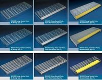 Best Galvanized Metal Stair Tread Galvanized Steel Grating 400 x 300