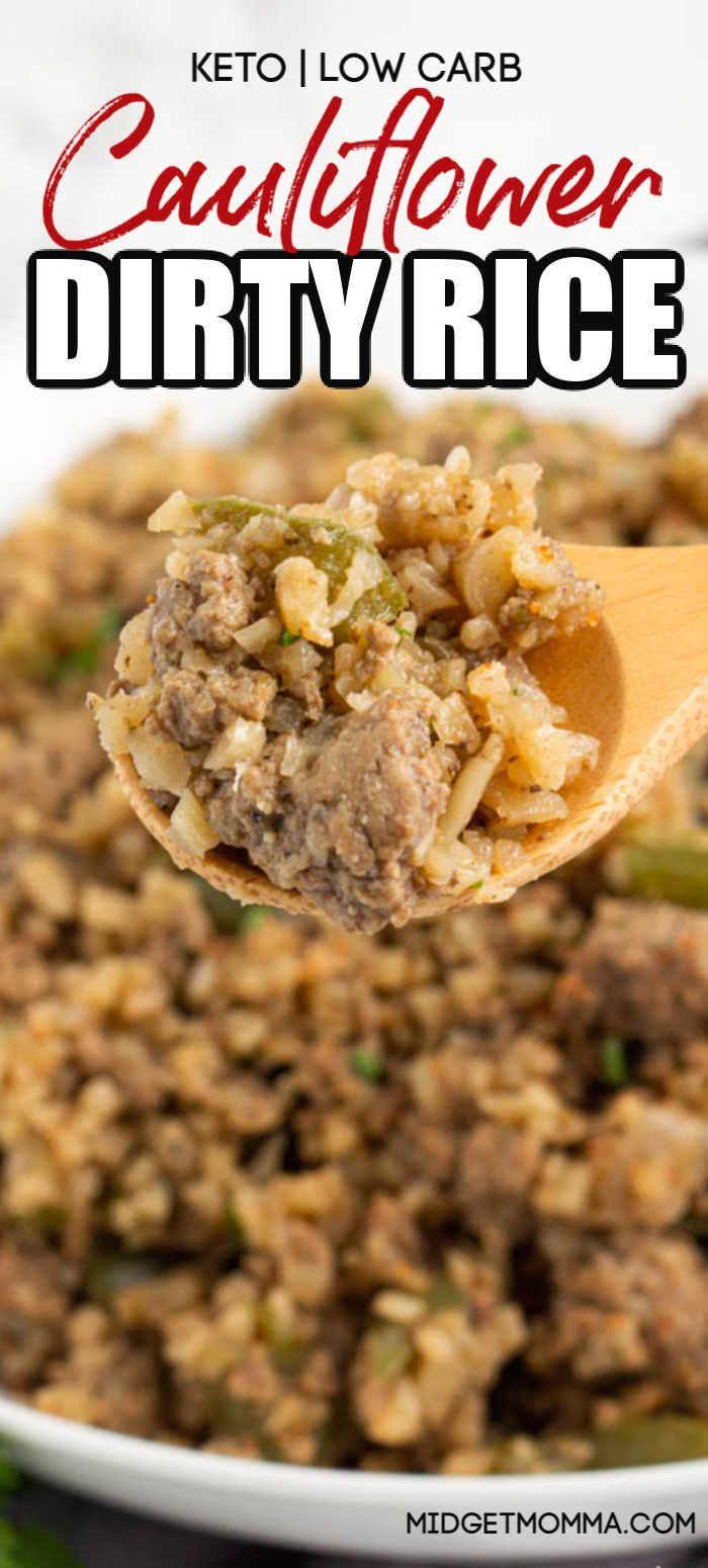 Photo of Keto Cauliflower Dirty Rice