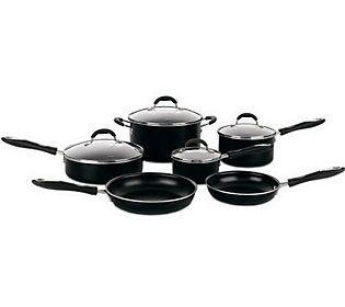 Cuisinart Advantage Nonstick 10-Piece CookwareSet - Black