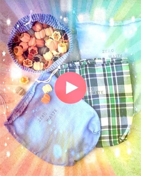 PRODUKTBEUTEL Zero Waste Drawstring Upcycled Bulk Bags produzieren Beutel aus recycelter Baumwolle  Organisationen 2 PRODUKTBEUTEL Zero Waste Drawstring Upcycled Bulk Bag...