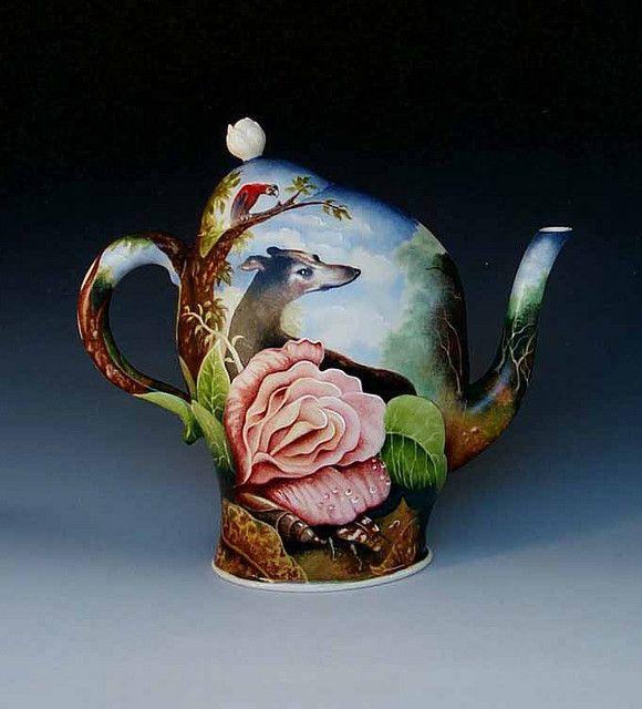 Kurt Weiser OUTDOOR LIFE teapot