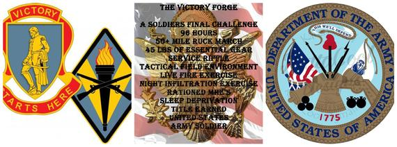 4 Piece Army Forge Decals