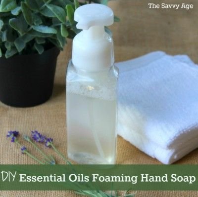 Foam It Up With This Easy Diy To Make Essential Oils Foaming Hand