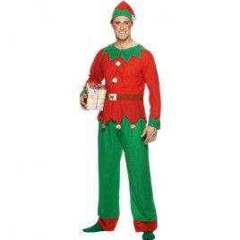 Costume homme lutin Noël   Lutins de Noël   Noel, Lutin de noel et ... dfffc22e7893