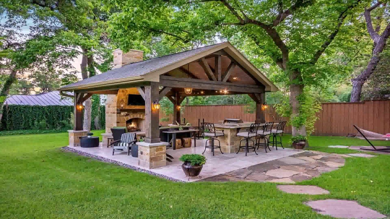 Covered Outdoor Kitchen Youtube In 2020 Diy Outdoor Kitchen Patio Covered Outdoor Kitchens