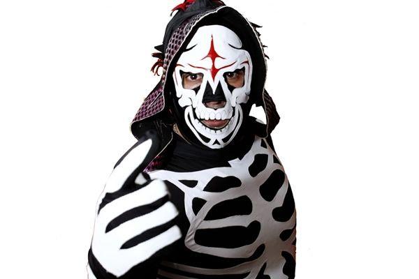 La PARKA Mask SKELETOR - MASKMANIAC.COM | Wrestling stars, Pro ...