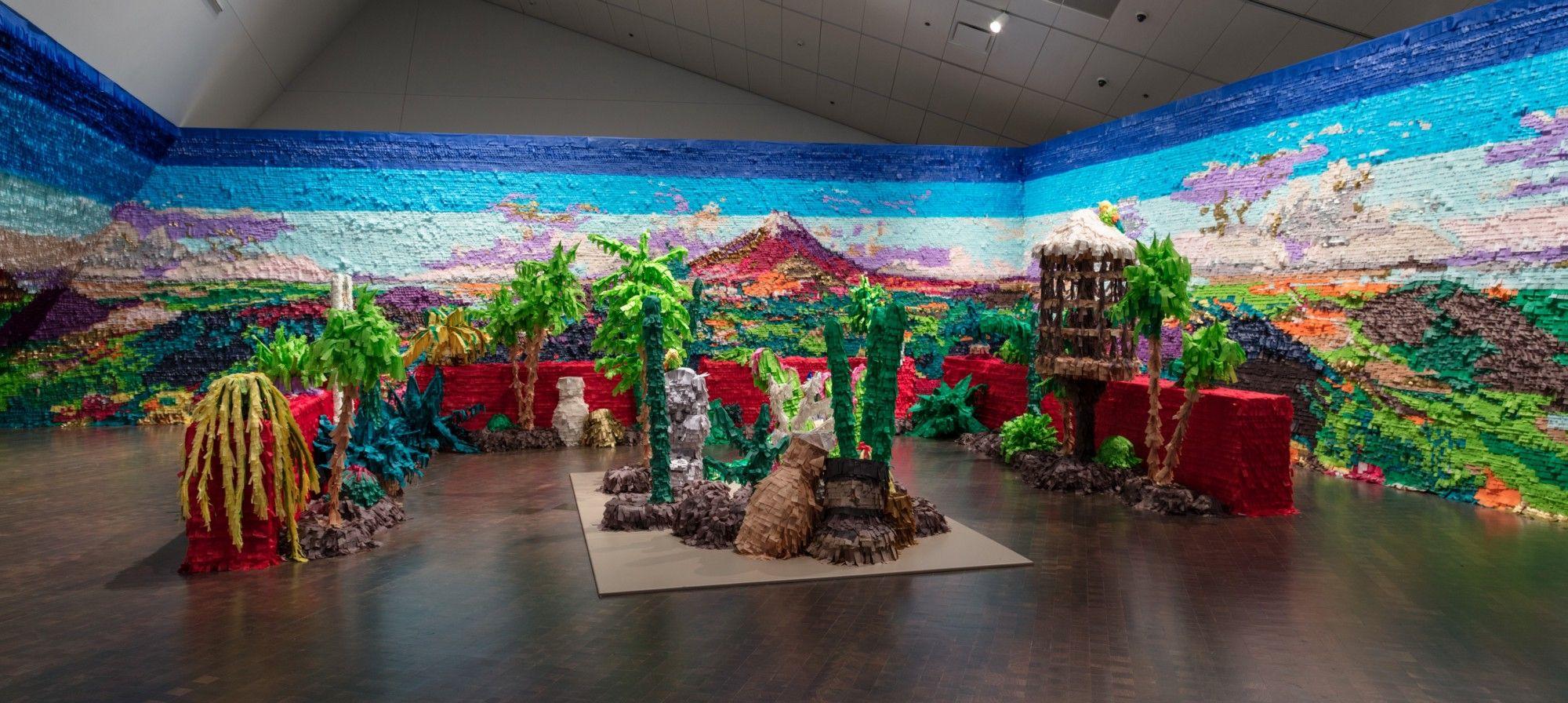 Image result for paper mache denver art museum
