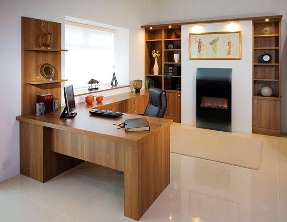 Contemporary Bespoke Executive Office Furniture Conquest Interior ...
