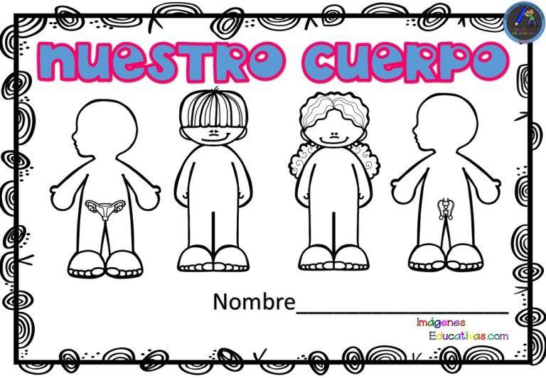 Cuaderno Para Trabajar El Cuerpo Humano En Infantil Y Primaria El Cuerpo Humano Infantil Cuerpo Humano Partes Del Cuerpo Preescolar
