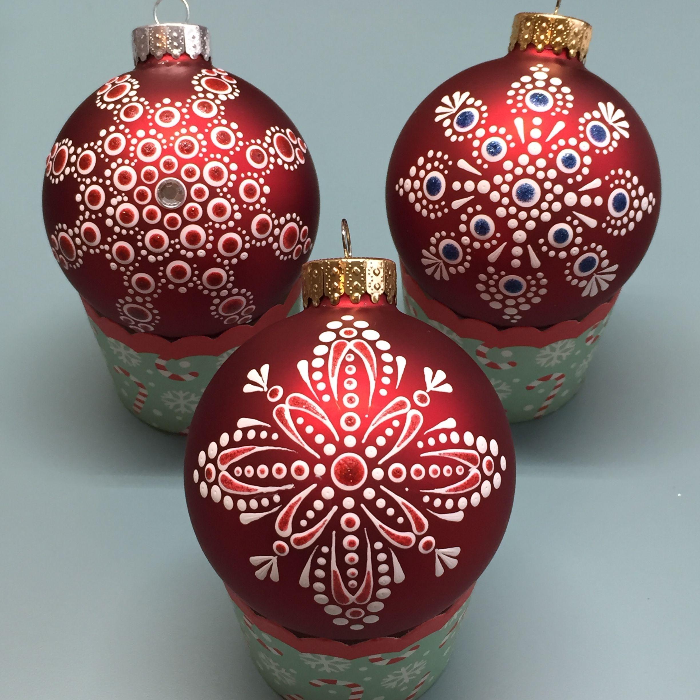 Tlcreations Mandala Christmas Mandala Christmas Ornaments Homemade Christmas Decorations Ornaments