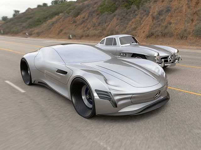 This Stunning Mercedes Benz Concept Car Doesn T Have Any Need For Windows