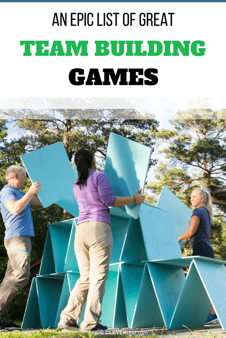 An Epic List of Great Team Building Games