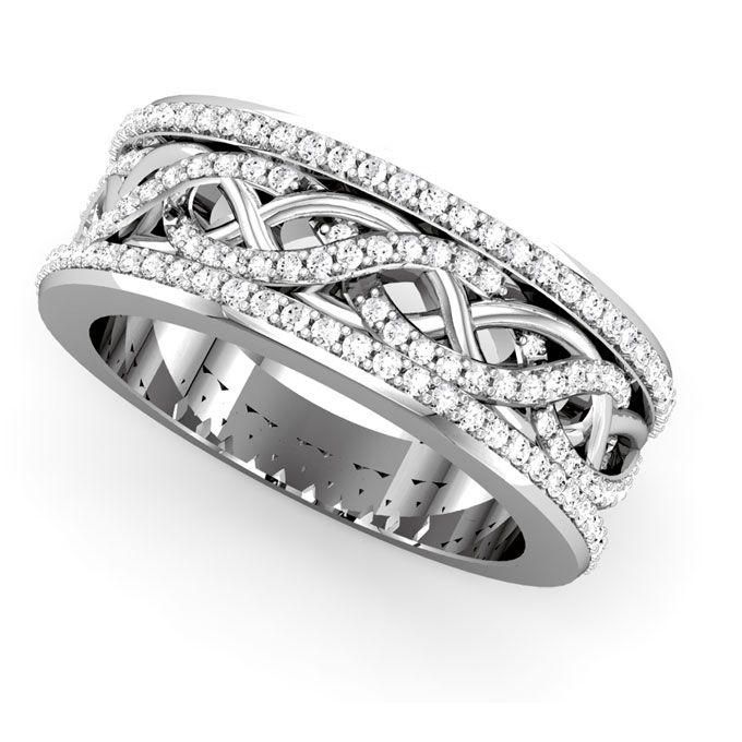 Http Www Abrahamjosephfinejewelers Com Brides Com Platinum Wedding Rings For Women Style 68052 P Platinum Wedding Rings Wedding Rings Unique Diamond Rings