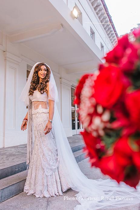 Alyssa and Abedin in 2020 Mumbai wedding, Mehendi