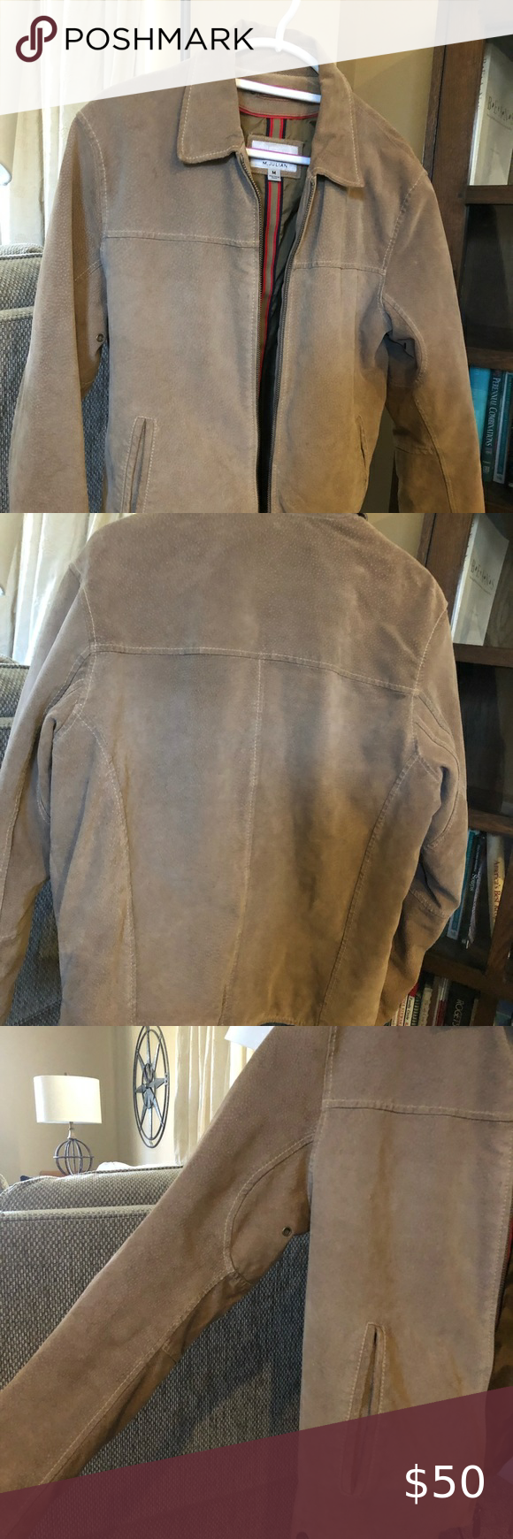 Soft leather/ suede jacket Wilson's Leather in 2020