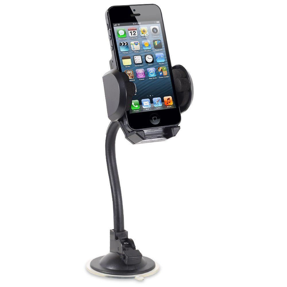 Amazon.com: Fosmon Gooseneck Windshield / Dash Car Mount for Apple ...
