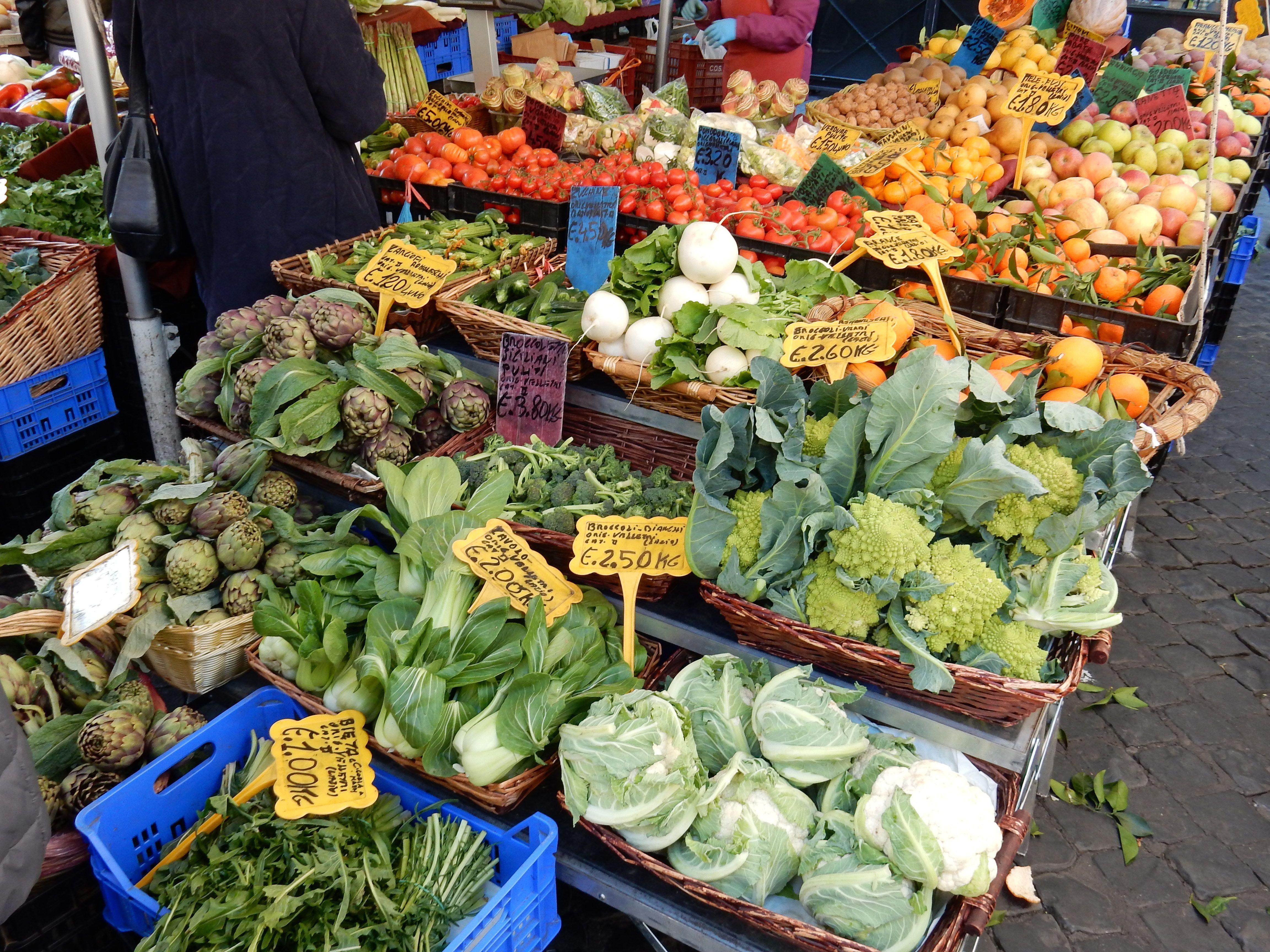 Le marché de Campo dei Fiori