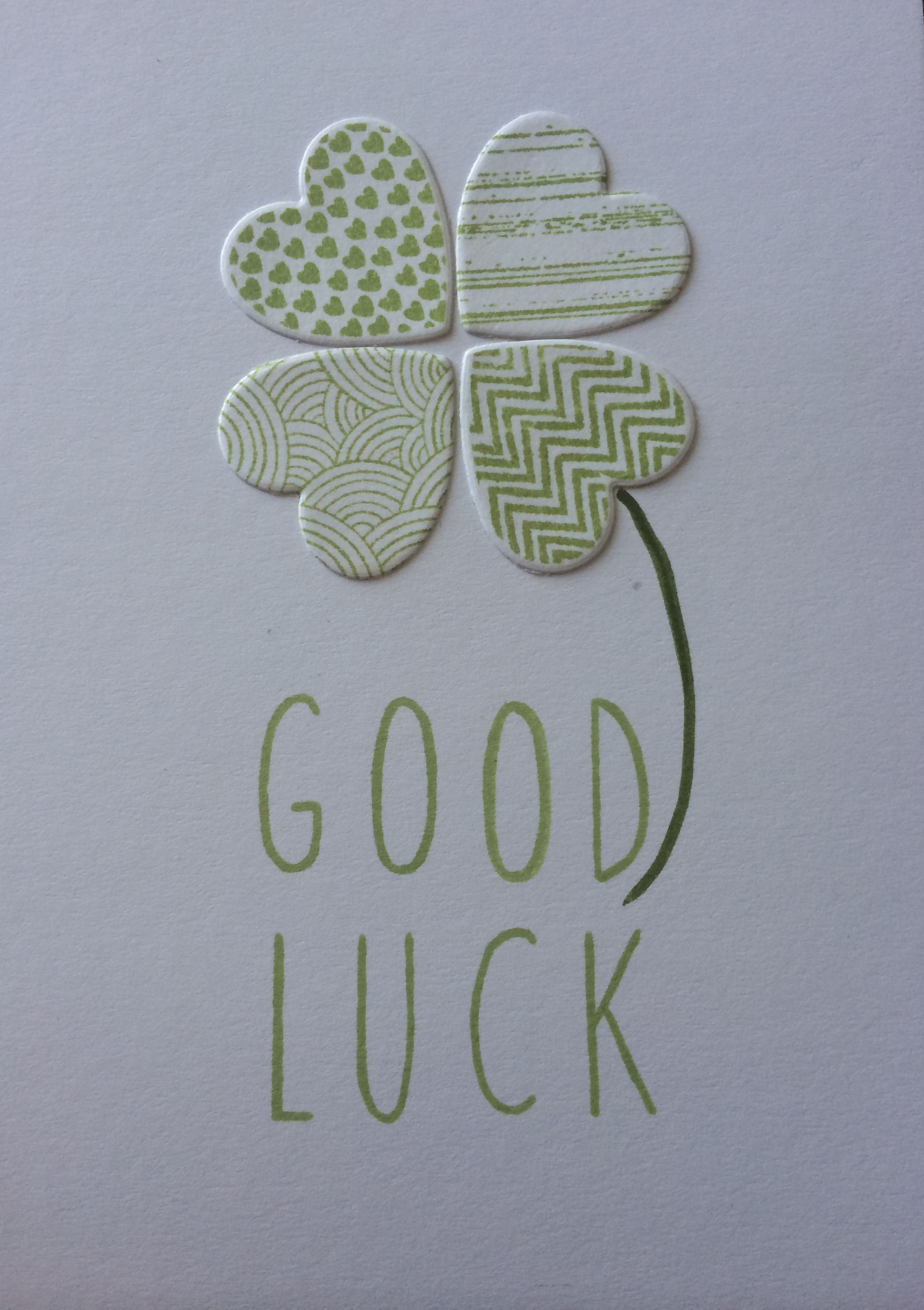 best 25  good luck cards ideas on pinterest
