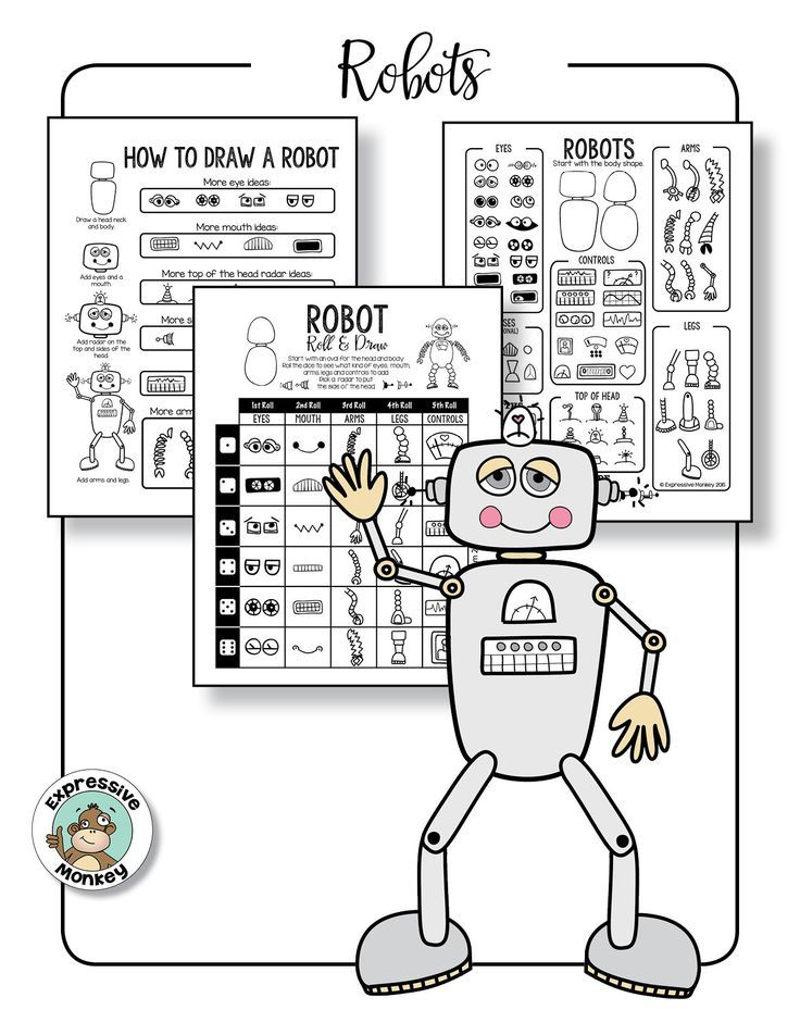 How to Draw Rockets and Robots | Drawing with Kids | Pinterest | Art ...