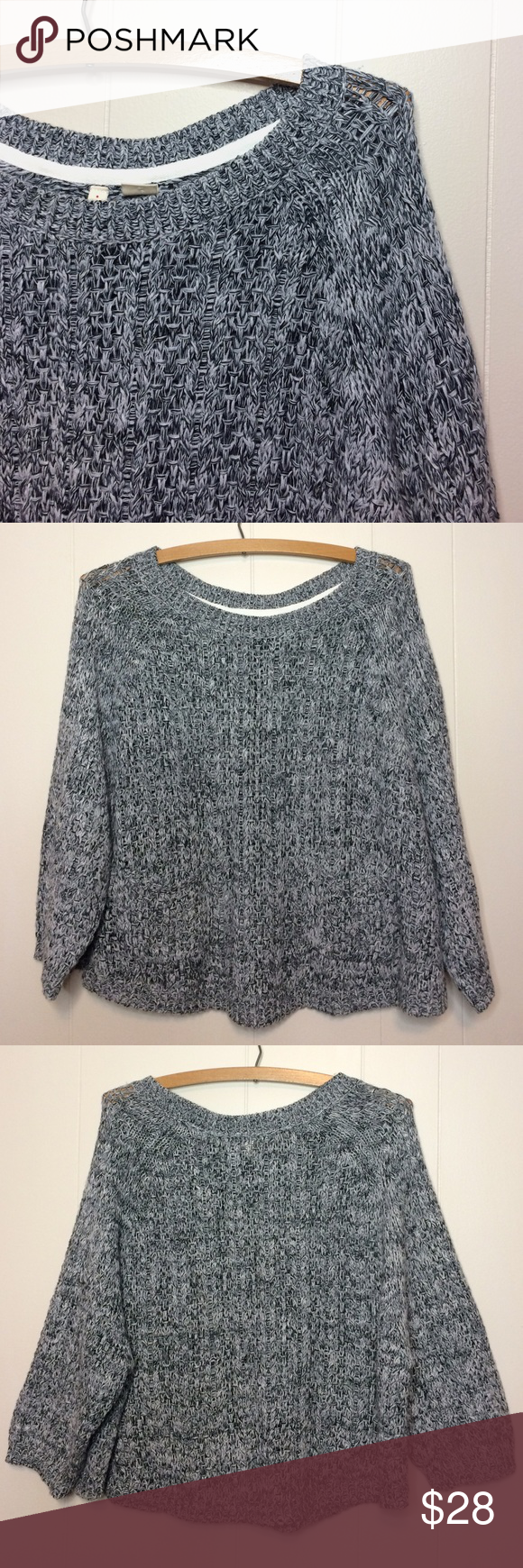 3/$10🔴Anthropologie Moth Loose Sweater | Moth, Anthropologie and ...