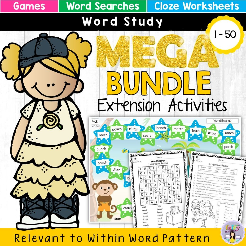 Word Study Games Amp Worksheets