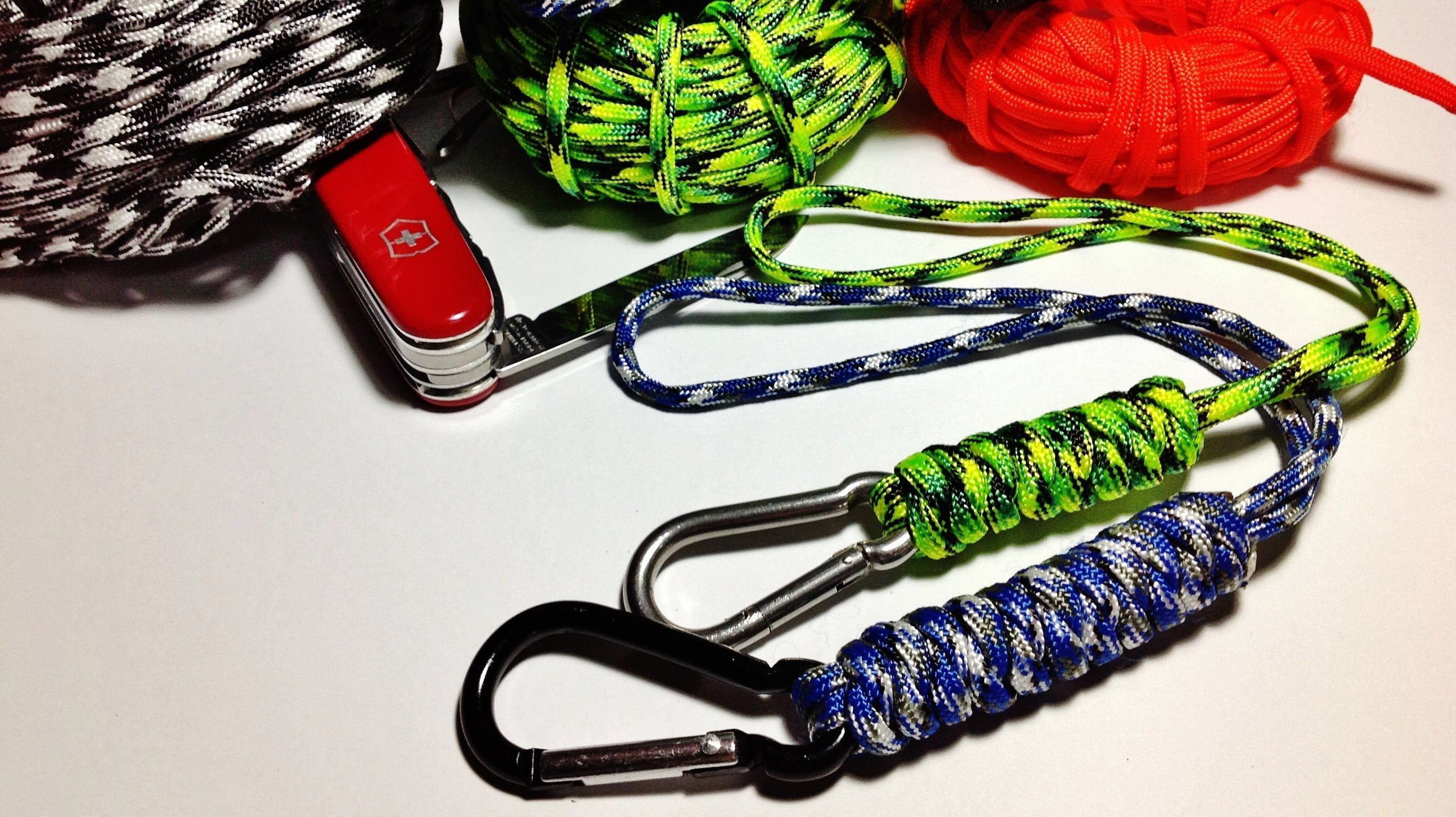 knife paracord loops how to make tie wrist paracord