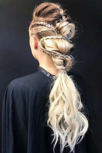 Vikings Lagertha Hair Tutorial #hairtutorials