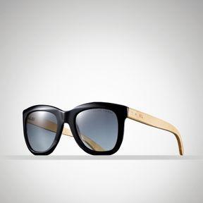 06ef59e0e124 ShopStyle.com: Ralph Lauren Bamboo Two-Toned Sunglasses $260.00 ...