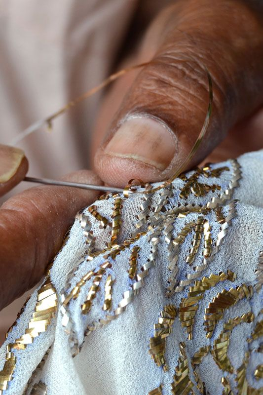 Badla Embroidery Of Rajasthan Clothing Amp Textiles
