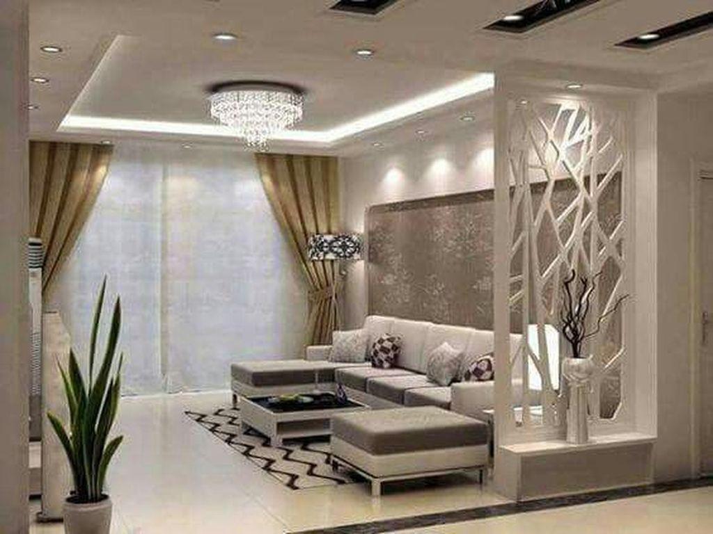 40 Spectacular Contemporary Living Room Interior Designs Ideas To Try Contemporary Decor Living Room Living Room Divider Contemporary Living Room