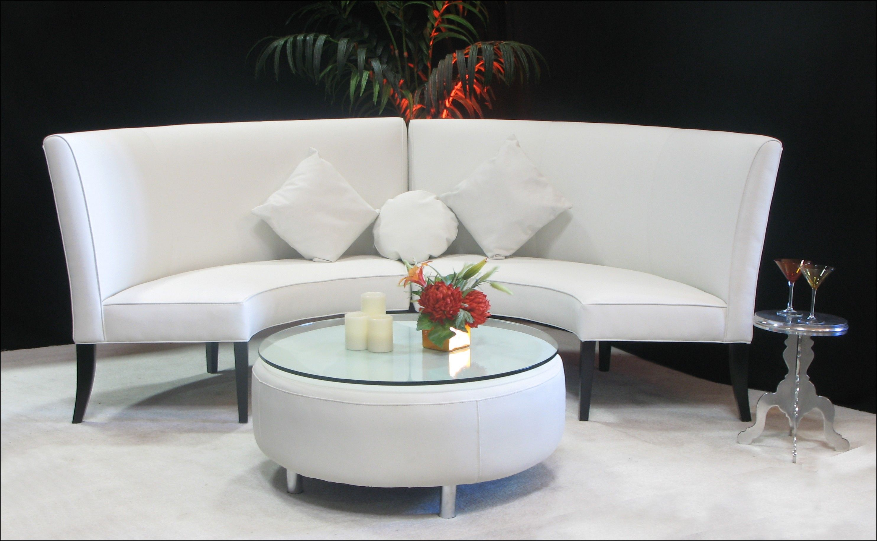 Round Settee Sofa