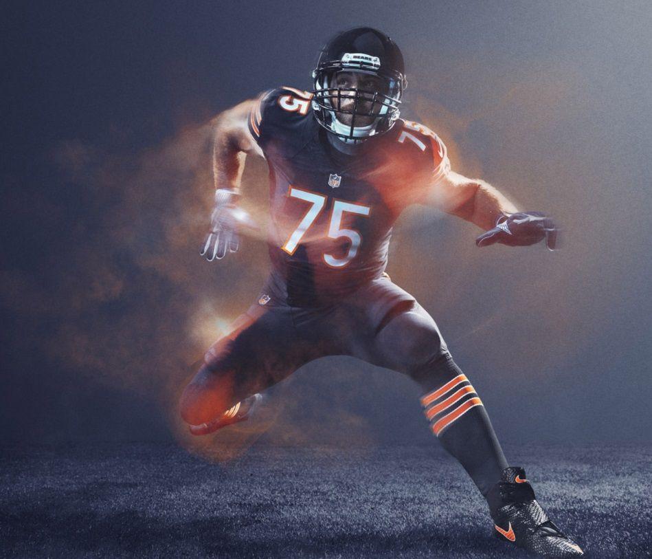 a36660370 Chicago Bears - 2016 NFL Color Rush Uniform