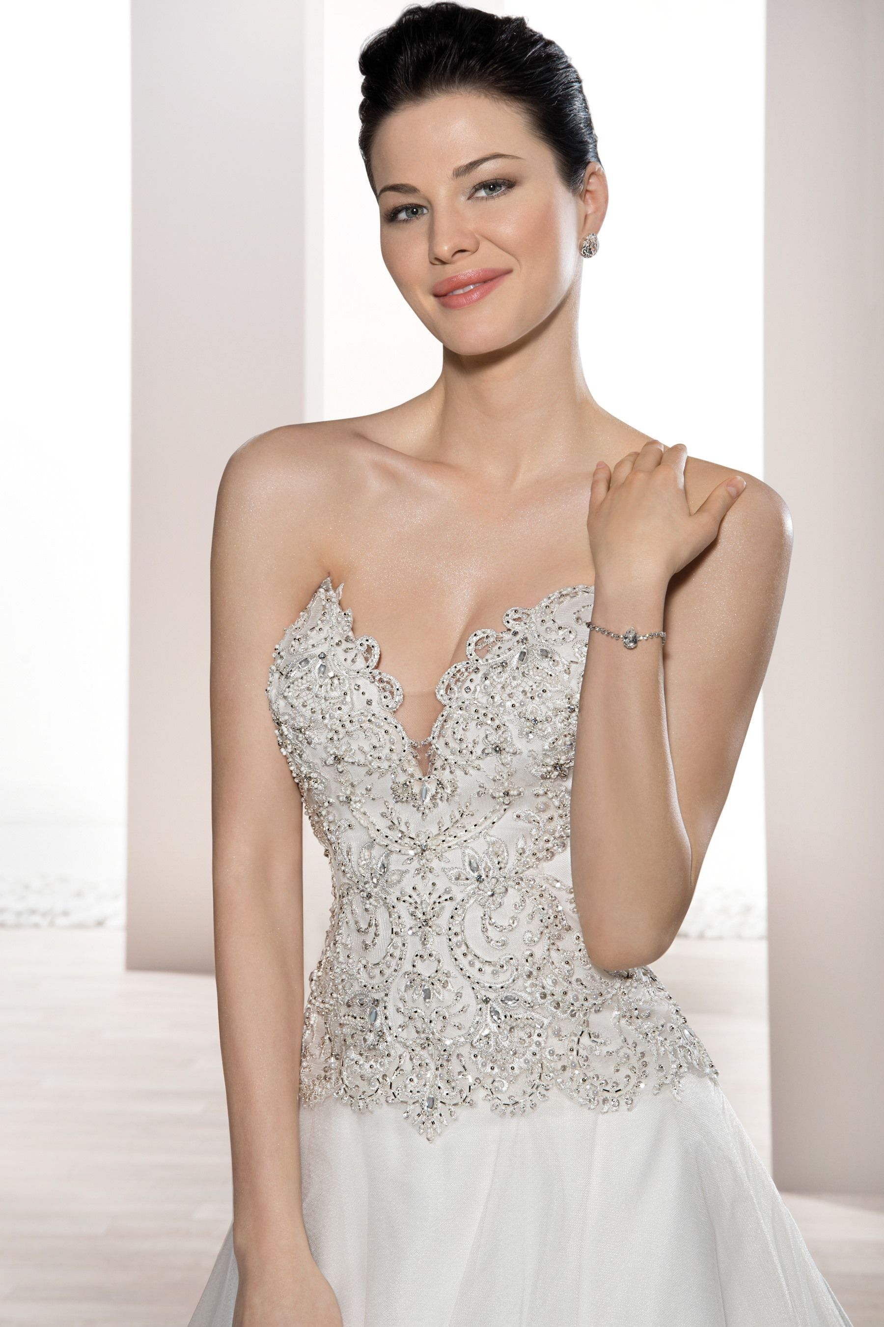 Style close bodice view demetrios collections