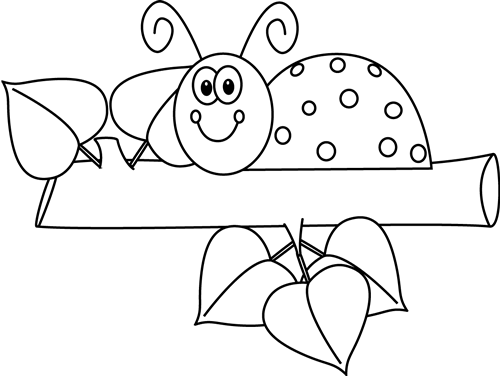 Black And White Ladybug On A Branch Beetle Art Art Quilts Fabric Painting