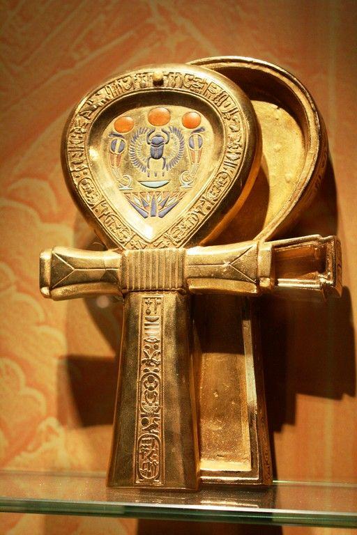 key of life king Tut treasures