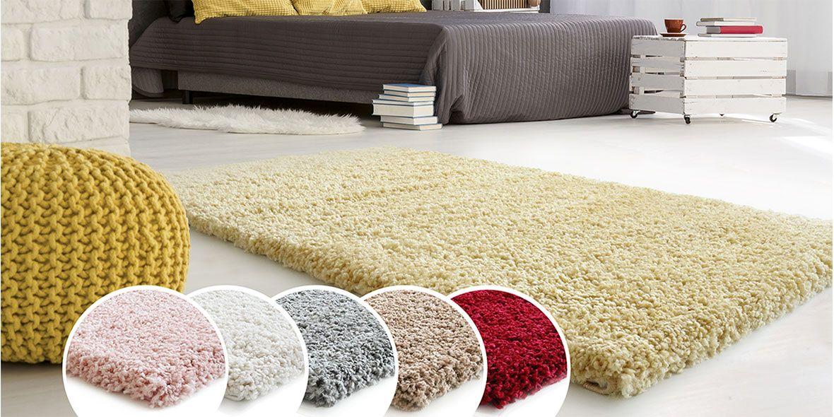 schlafzimmer gelb rot grau cream braun beige hell carpet teppich ... - Teppich Gelb Braun