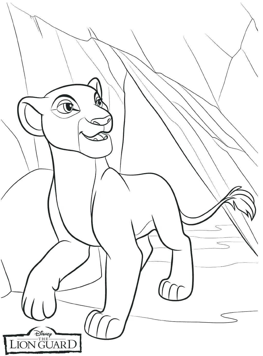 Lion King Coloring Pages Lovely Coloring Pages Of Lion