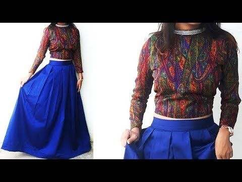 6d706f1f532081 Transform Old Saree To Asymmetric Frock Style Kurti With Attached Koti  Cutting And Stitching - YouTube