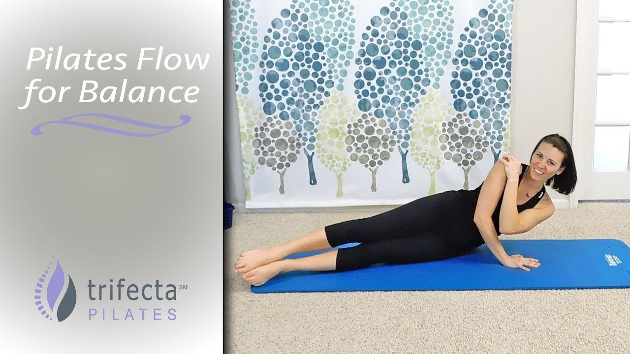 Intermediate 40Minute Pilates Flow for a Balance Body