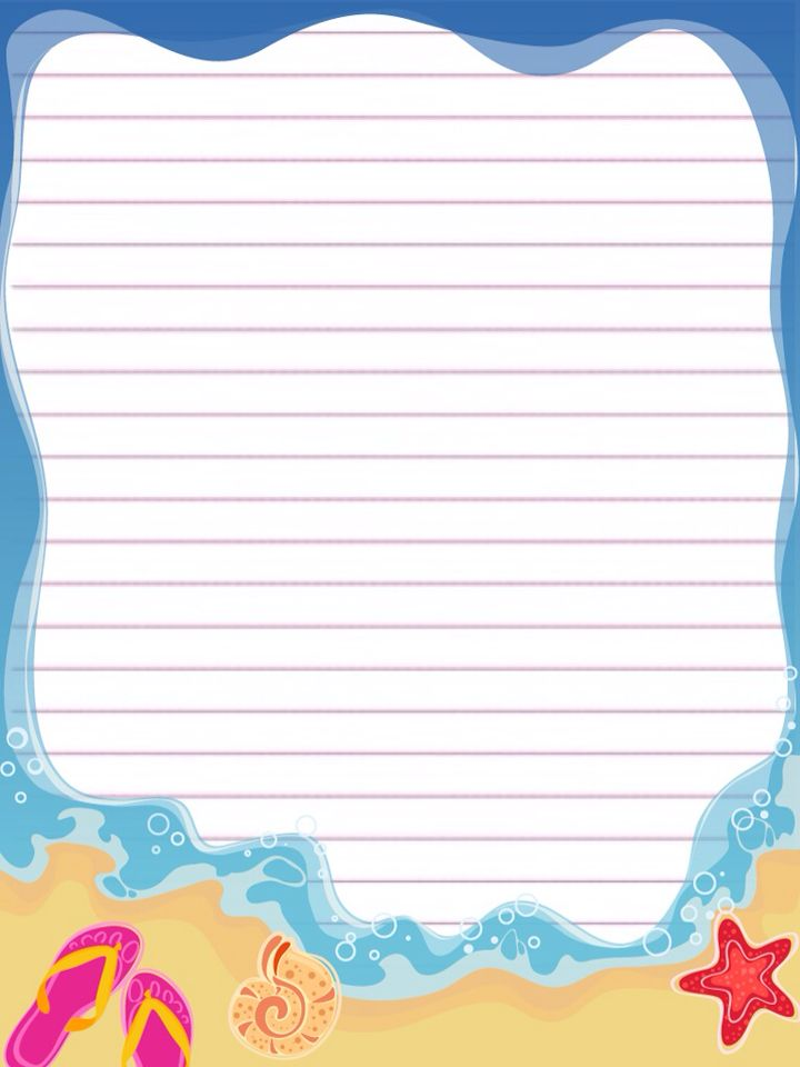 Pin by Adriana Lopez on Bordes Pinterest Note, Stationary and - free printable lined stationary