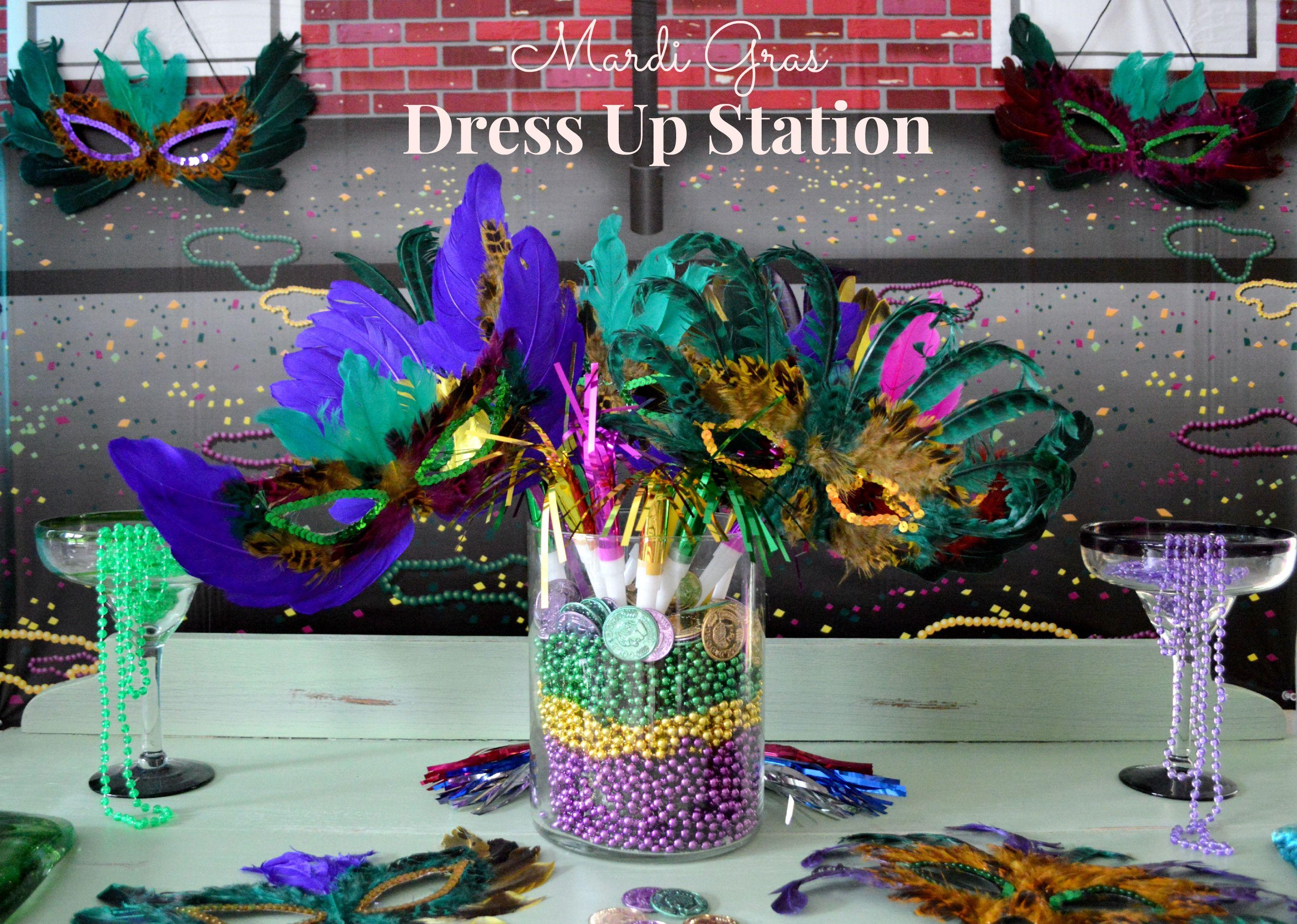 mardi gras table centerpieces ideas | mardi gras centerpieces ideas