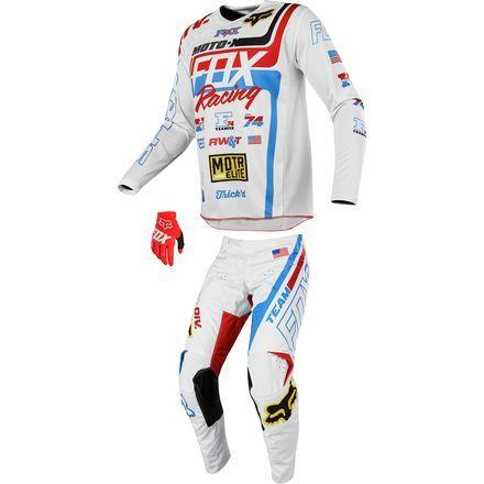 buy online 38033 08c2e Fox Racing 2018 180 Combo - Red White   True SE