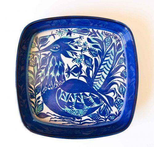Royal Copenhagen Mid Century Bird Motif Designs Royal Copenhagen Danish Mid Century Modern Pottery