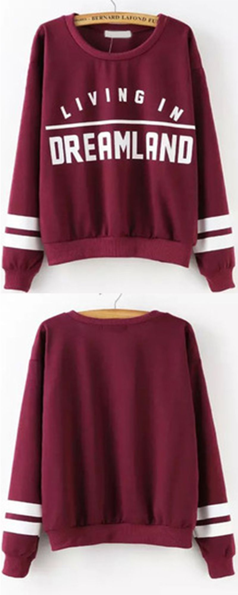 The Wine Red Sweatshirts Are Kind Of Like My Uniform All Fall This Is My Too Tired To Function Sweatshirt Jumper Cool Fashion Gir Clothes Fashion Cool Outfits [ 2000 x 800 Pixel ]