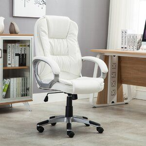 Inglestone Common Executive Chair In 2020 White Office Chair