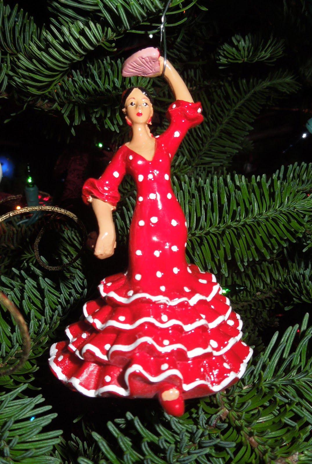 Flamenco Christmas Ornament Christmas Tree Themes Christmas In Spain Flamenco