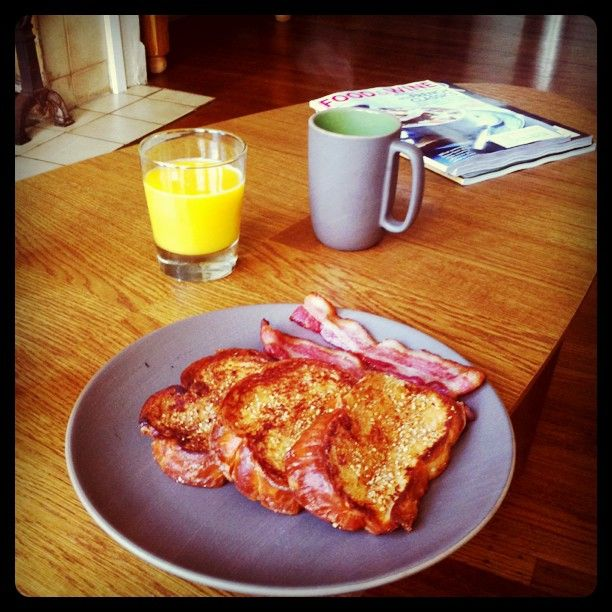 Almond-Crusted French Toast via @sasser