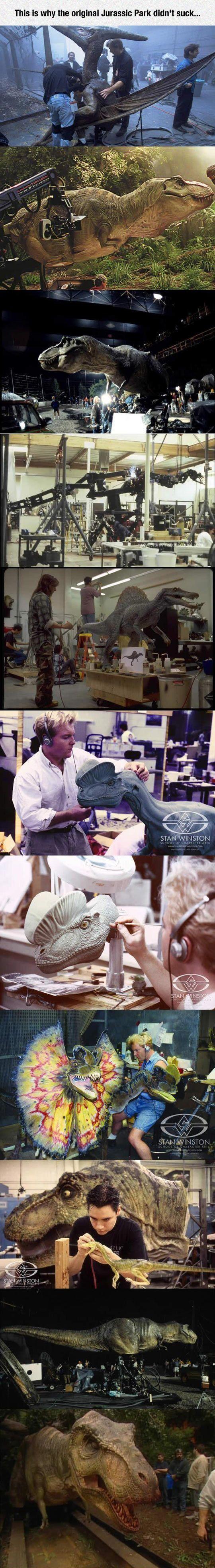 Why the original Jurassic Park didn't suck. #dinosaurpics