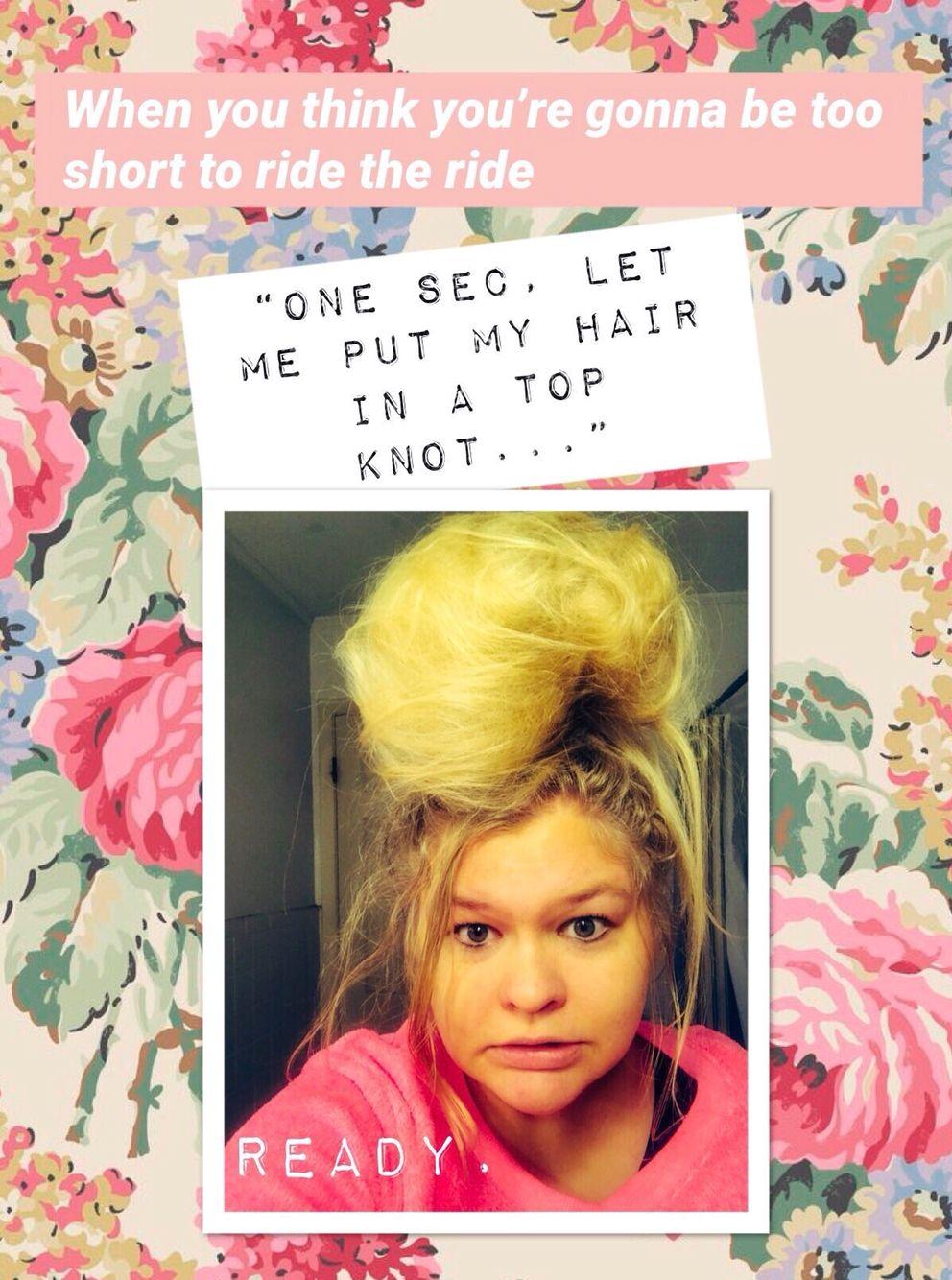 Funny Memes Hair Bun