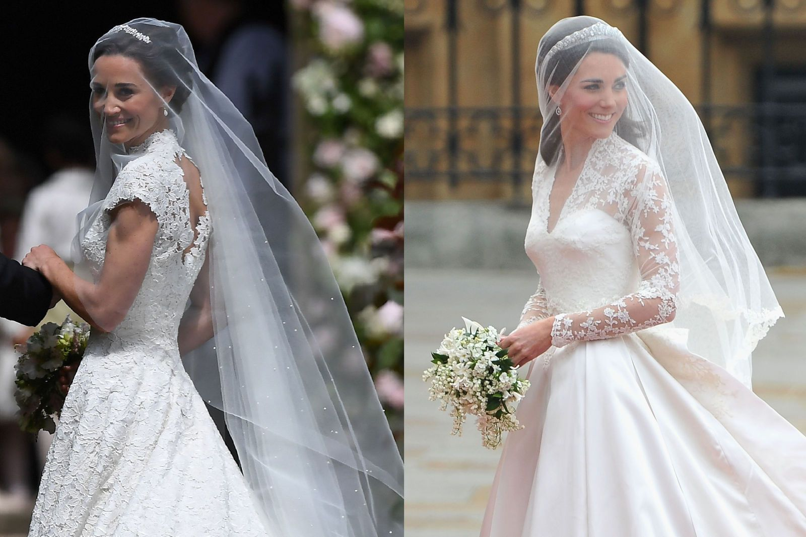 Pippa Middleton Weds in Giles Deacon